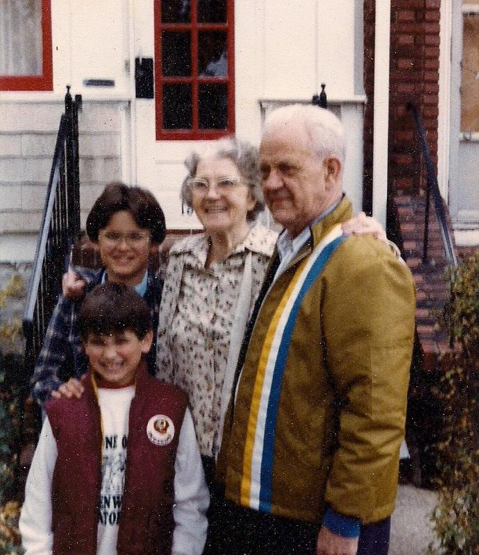 Thomas, Me, Grammy and Grampy