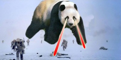 Super Death Panda at Hoth