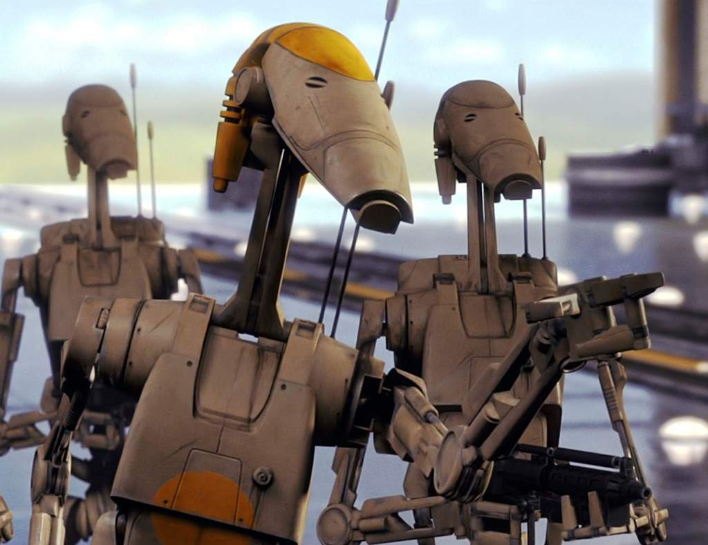 Bossy Battle Droid