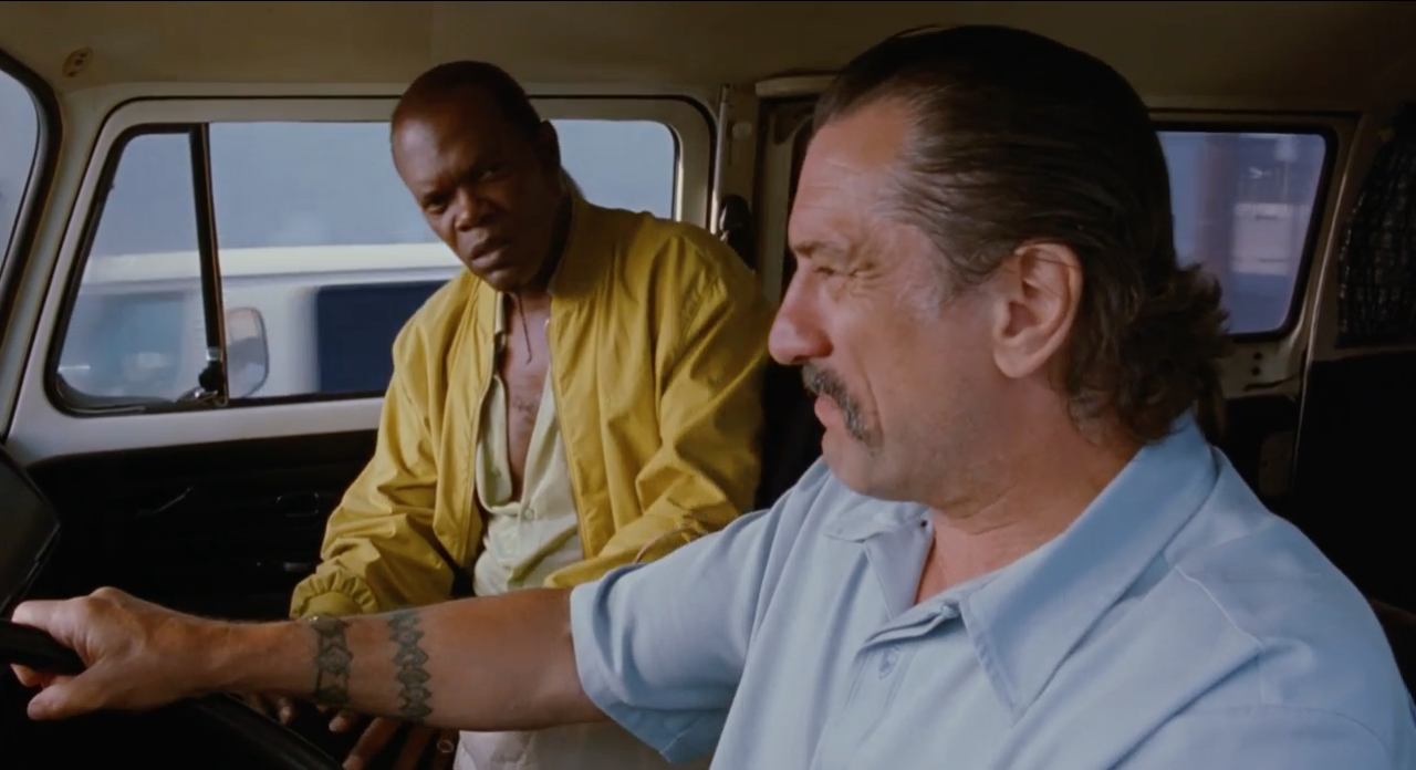 Ordell and Louis in Jackie Brown